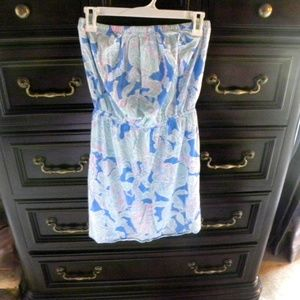 Lilly Pulitzer Strapless Sundress Size M